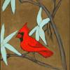 Cardinal in a Chinese Landscape (For Dad) 2006 12' x 36'