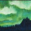 "Northern Lights 2008 13.5"" x 15"""