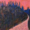 "Grizzly Bear on the Horizon 2009 24"" x 24"""